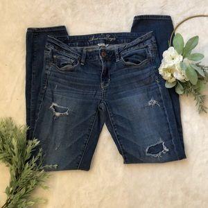 American Eagle Junior Jeans EUC